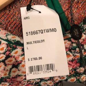 NWT $3K AMQ Alexandra Mc Queen Knite floral dress
